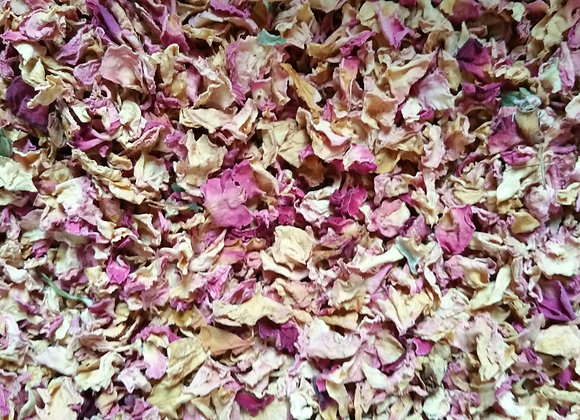 Rosenblütenblätter 30g