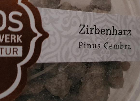 Zirbenharz