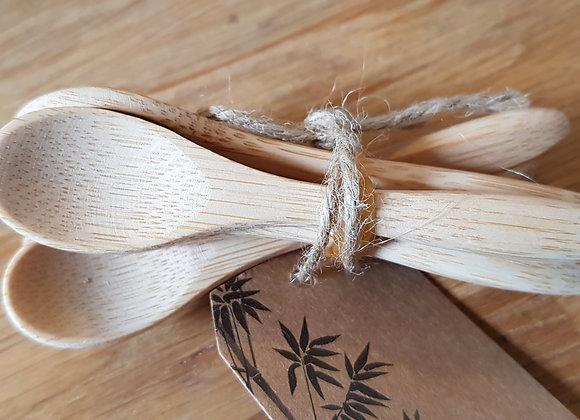 Holzlöffel klein Bambus