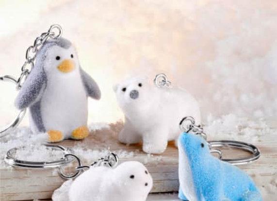 Schlüsselanhänger Polartiere