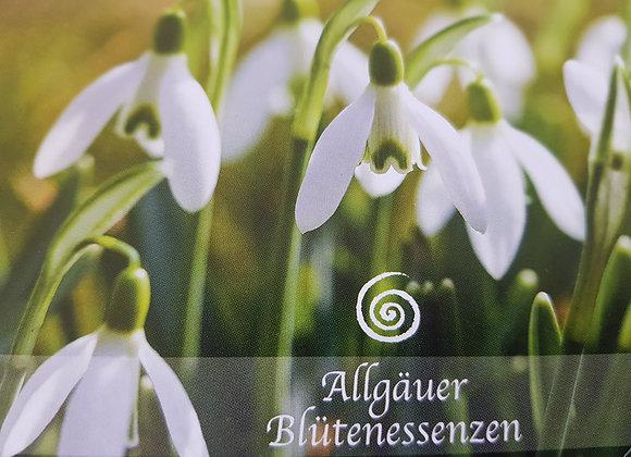 Allgäuer Blütenessenz Schneeglöckchen - dem Herzensruf folgen