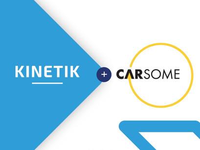 *Kinetik Hiring | Partnership with Carsome*
