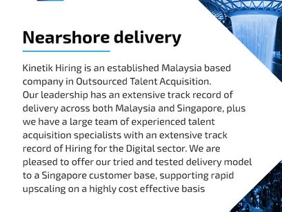 *Kinetik Hiring | Nearshore delivery | Singapore