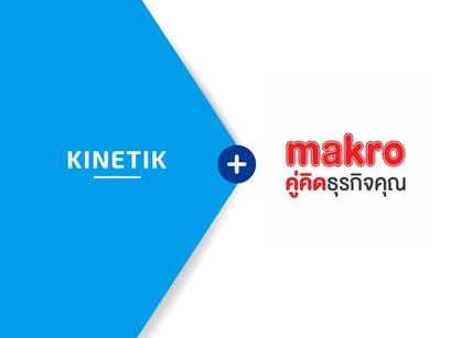 💥Kinetik Hiring   Partnership with Siam Makro Public Company Limited💥