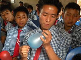 NeedleThroughBalloonExperiment 2013 Nagaland