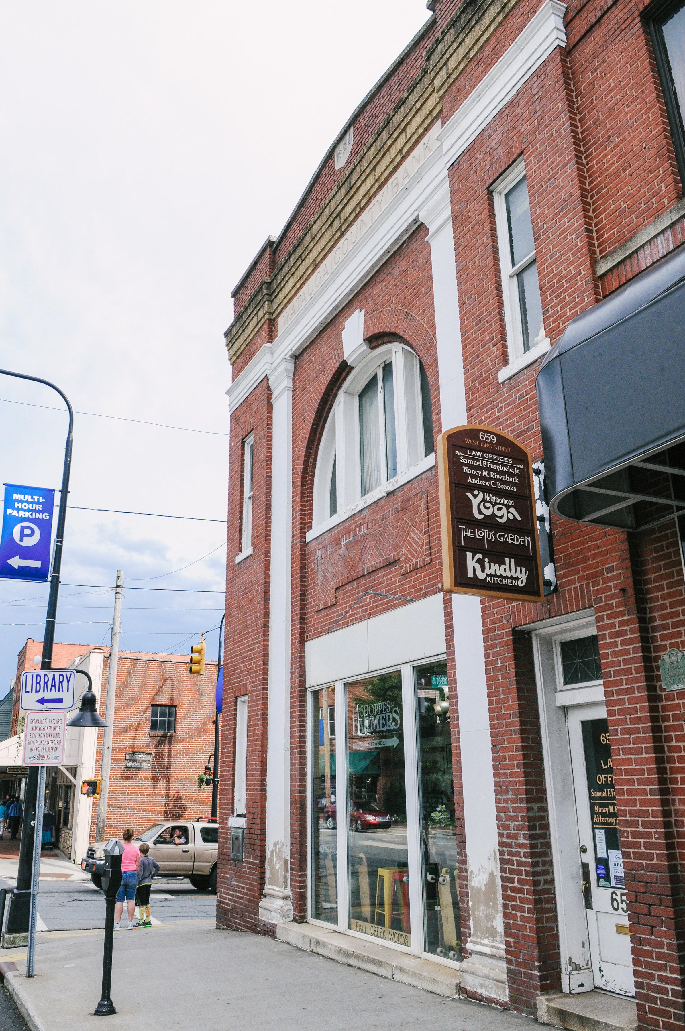King Street Entrance