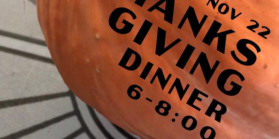 Kindly's Thanksgiving Dinner