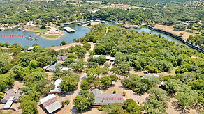 Lake Whitney Home Aerial