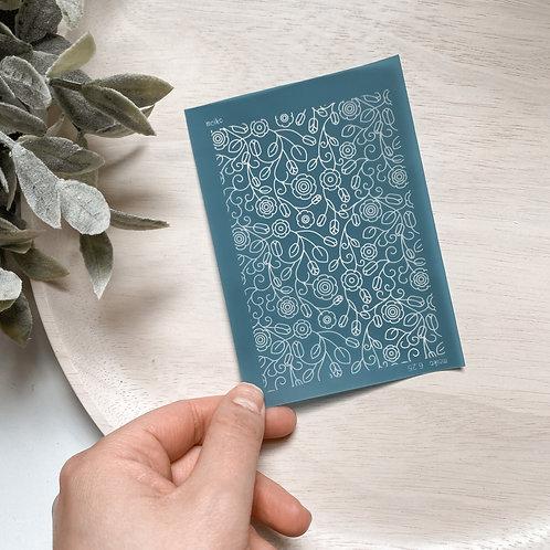 Spring Florals Silk Screen