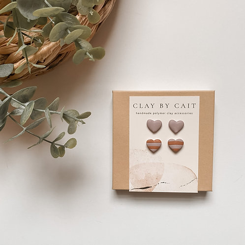 The Love - stud, two pack