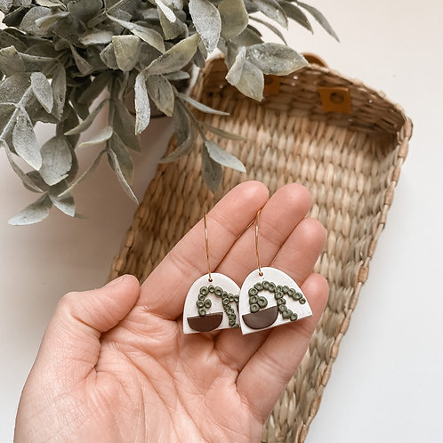 Poly Clay Plant Hoops
