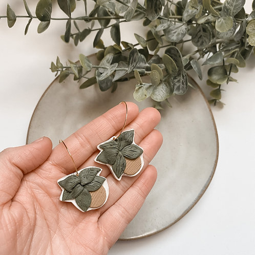 Poly Clay Plant Dangles