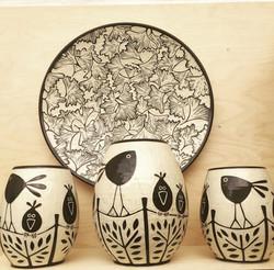 sgraffito pottery