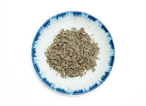Sage Leaf, Rubbed, Dalamatian