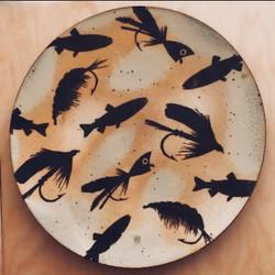 Flyfishing Platter