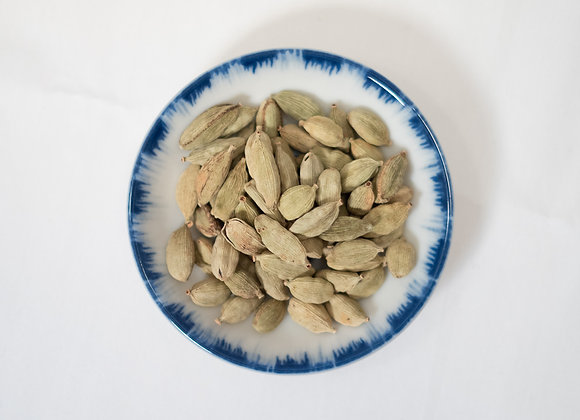 Cardamom Pods, Green, Whole