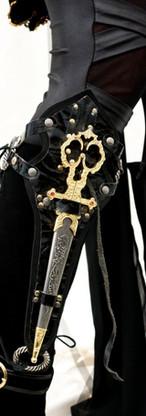 Scissor Dagger Boot Holster
