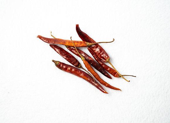 Chili Pepper, De Arbol, Whole