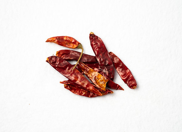 Chili Peppers, Japones, Whole
