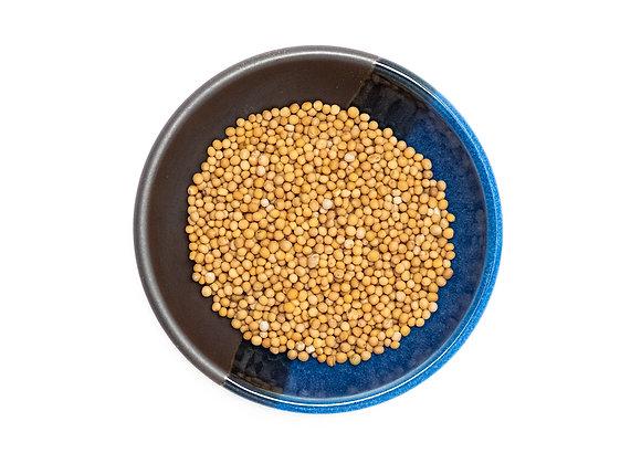 Mustard Seed, Yellow, Whole