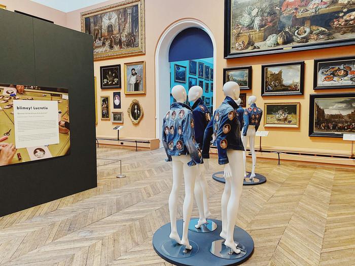 blimey Lucretia exhibition at The Bowes