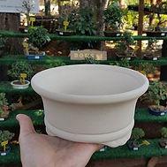 Vaso de cerâmica para Bonsai