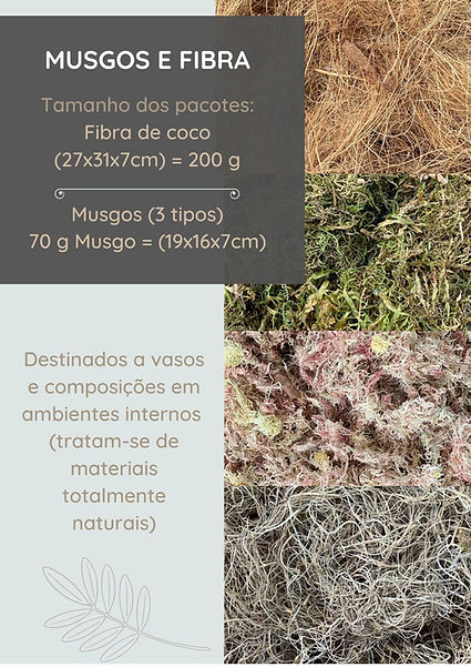 Musgos e Fibra