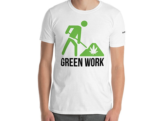 "Green Work ""In Utero"" Short-Sleeve Unisex T-Shirt"