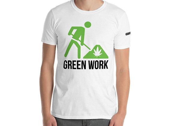 Green Work GIANT SQUID AUTO STRAIN Short-Sleeve Unisex T-Shirt