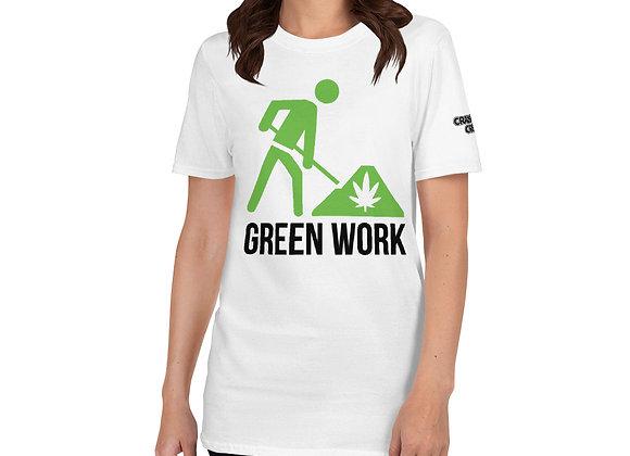 Green Work CRANBERRY CREAM STRAIN Short-Sleeve Unisex T-Shirt