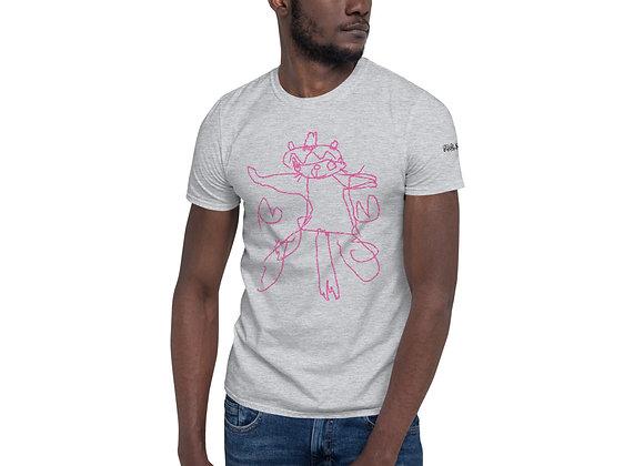 "Fun Club Seeds ""Pink Unicat"" Strain-Specific Short-Sleeve Unisex T-Shirt"