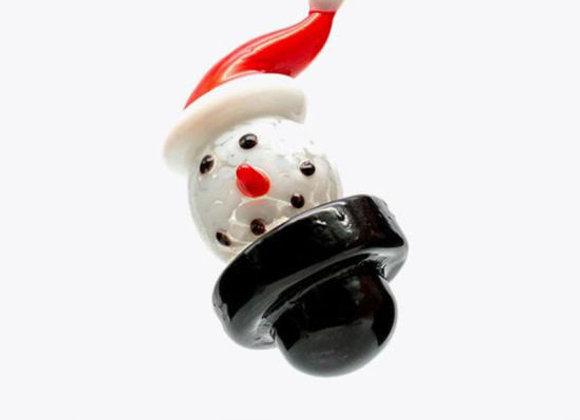 Santa Snowman Carb Cap