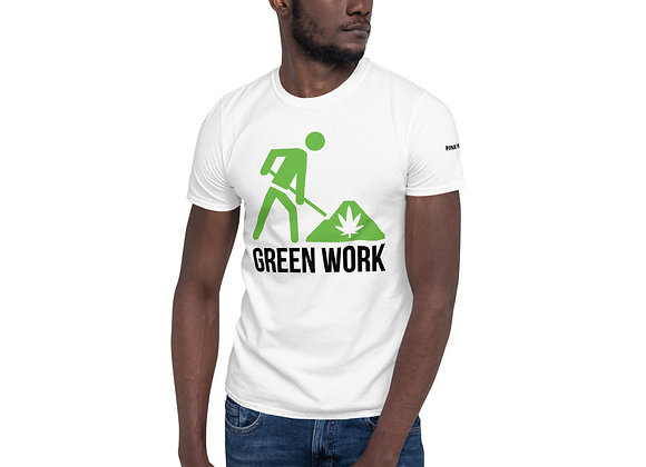 "Green Work ""Pink Pucker"" Short-Sleeve Unisex T-Shirt"