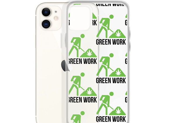 Green Work iPhone Case