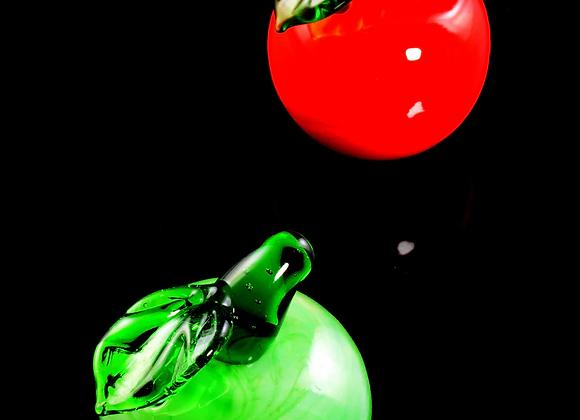 Glass Apple Carb Cap