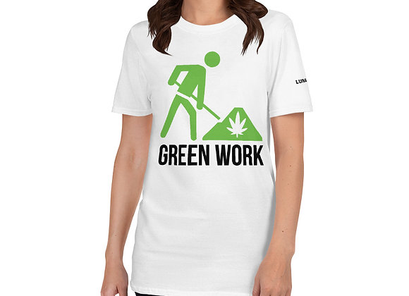 "Green Work ""Luna Leche"" Short-Sleeve Unisex T-Shirt"