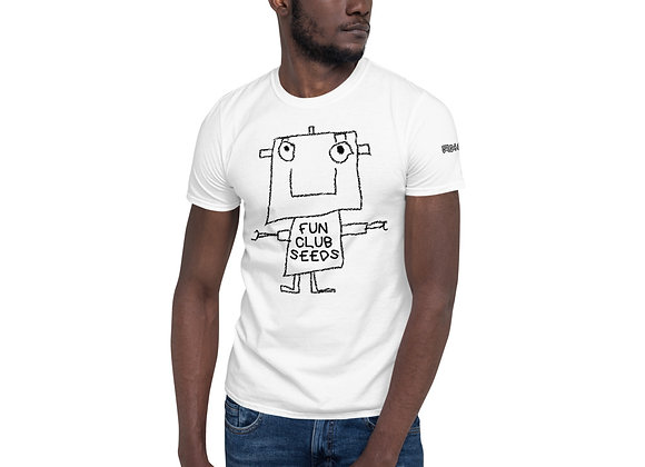 "Fun Club Seeds ""The Fun Club"" Strain-Specific Short-Sleeve Unisex T-Shirt"