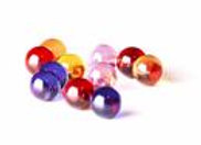 Terp Pearls, 6mm Color Dab Beads