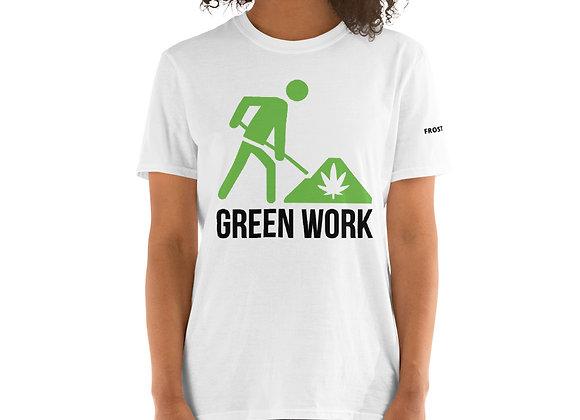 "Green Work ""Frosty Balls"" Strain-Specific Short-Sleeve Unisex T-Shirt"