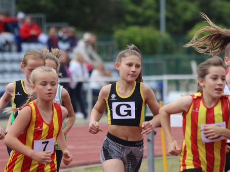 Improved pentathlon club record for Maggie