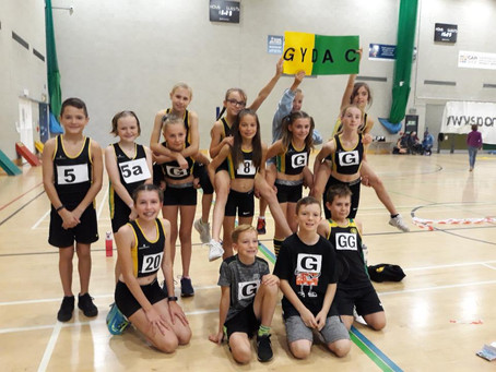 Sportshall UEA 19th October 2019