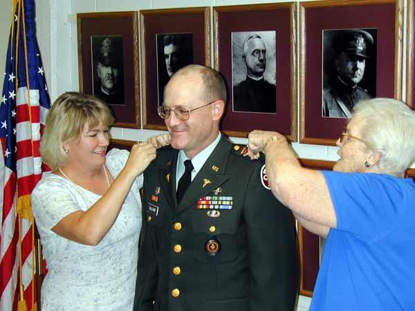LtCol Daniel E. Holland, DVM, US Army, K