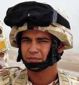 Sapper Darren Smith, Royal Australian Ar