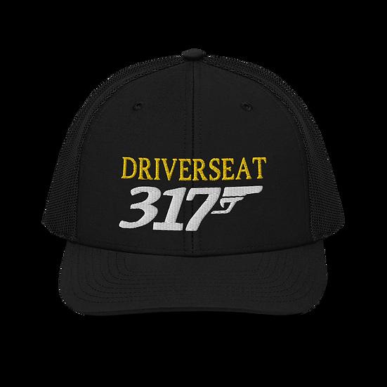 Shooter Trucker Cap - Black