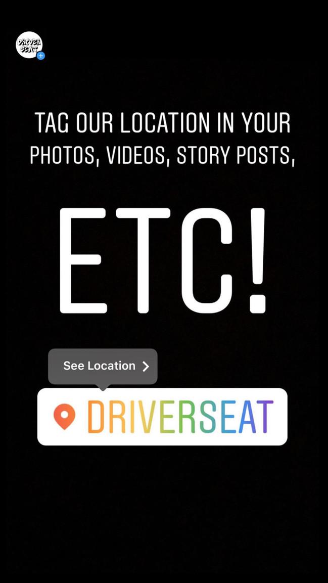 @driverseat.nbd on Instagram!