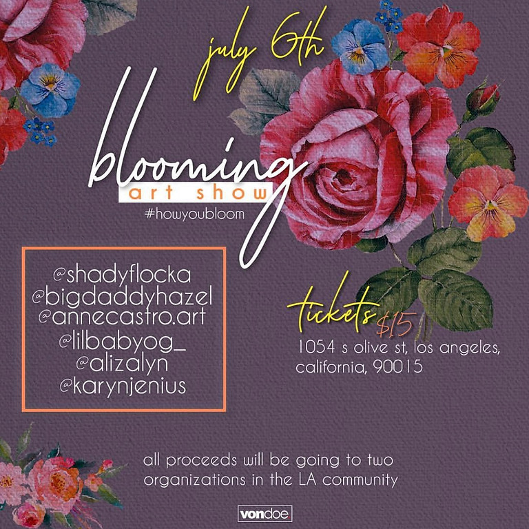 blooming Art Show
