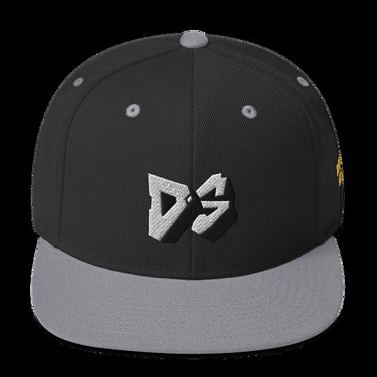 DS Snapback - Black/Grey