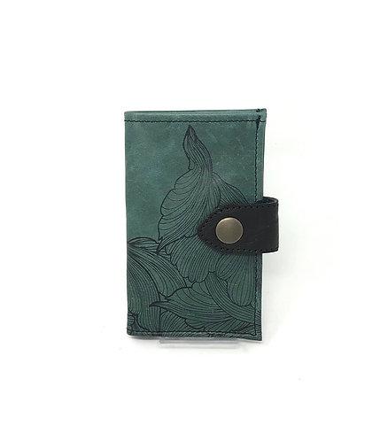 PORTAFOGLIO DONNA - Verde/Fiori