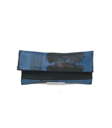PORTA OCCHIALI - Blu/Meduse Nere