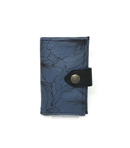 PORTAFOGLIO DONNA - Blu/Fiori